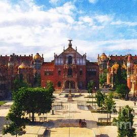 Barcelona, Spain by Jerzy Czyz