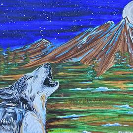 Bark at the Moon by Mike Nahorniak