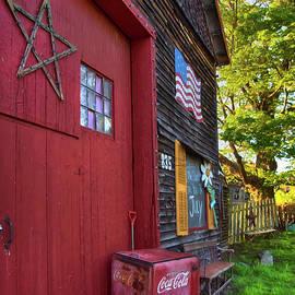 Barn Americana  by Joann Vitali