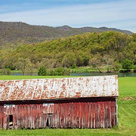 Barn by the River by David Beard