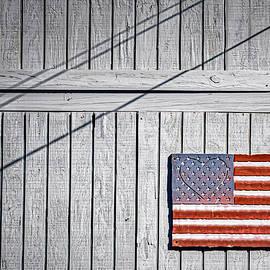 Barn Flag by Stuart Litoff