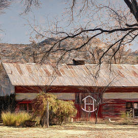 Barn in Camp Verde by Donna Kennedy