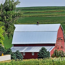 Barn In The Valley by Kathy M Krause