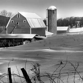 Barn in Winter by Nancy Griswold