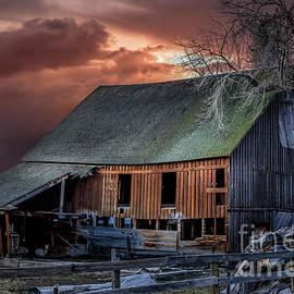 Barn Washoe Valley Nevada by Mitch Shindelbower
