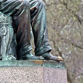 Bascom Hill Lincoln Statue, Madison, Wisconsin by Steven Ralser