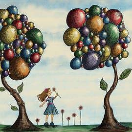 Basie and the Gumball Trees by Christina Wedberg