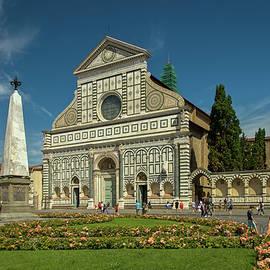 Basilica of Santa Maria Novella, Florence. by Robert Murray