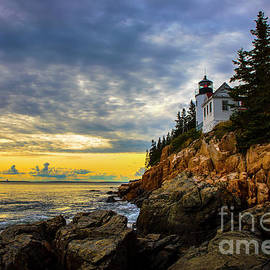 Bass Harbor Lighthouse, Acadia National Park. by Diane Diederich