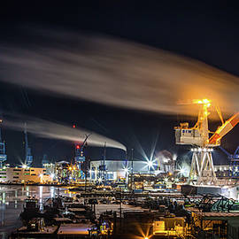 Bath Iron Works by Dave Cleaveland
