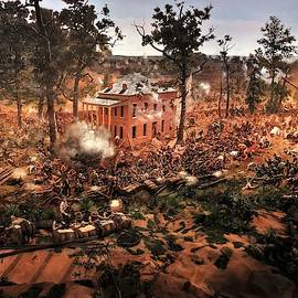 Battle For Atlanta Cyclorama by Christopher James