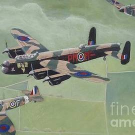 Battle of Britain Memorial Flight by Timothy Lancaster