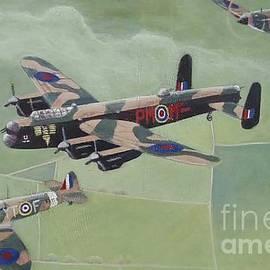 Battle of Britain Memorial Flight by Timothy Lancaster