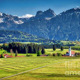 Bavarian Scenery by Edmund Nagele