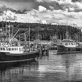 Bay of Fundy Lobster Fleet by George Moore
