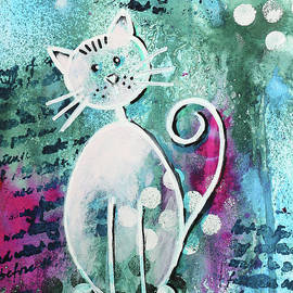 Be Happy with a Cat by Jutta Maria Pusl