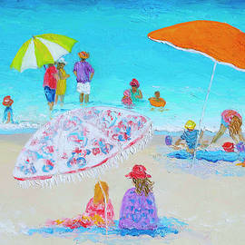 Beach Art - Beach Vacation by Jan Matson