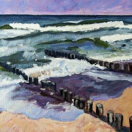 Beach at Domburg by Anthony Van Gelder