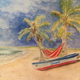 Beach Day in Cozumel by Anne Sands
