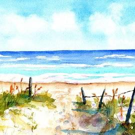 Beach Dune Path by Carlin Blahnik CarlinArtWatercolor