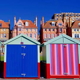 Beach huts, Hove by Joe Vella