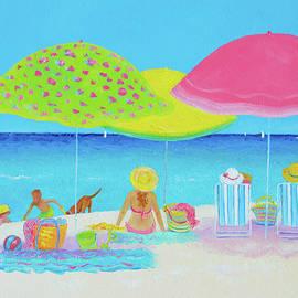 Beach Painting - Beach Life by Jan Matson