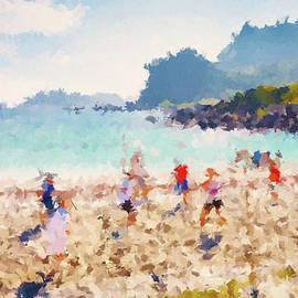 Beach Volleyball by Alex Mir