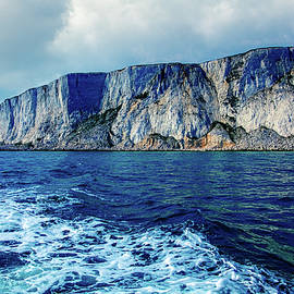 Beachy Head From The Sea by Chris Lord
