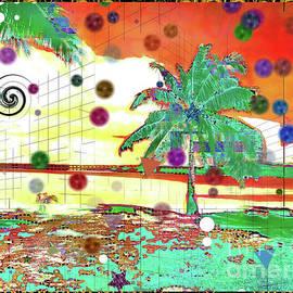 Beachy Palm Scene by Sea Change Vibes