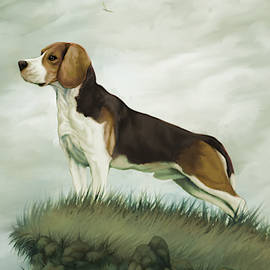 Beagle King by Jessica Greving
