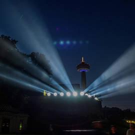 Beams of Light at Niagara Falls 261