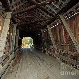 Bean Blossom Covered Bridge 46, Indiana by Steve Gass