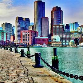 Bean Town at Mid Day by Frozen in Time Fine Art Photography