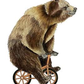 Bear Bike by Graham Wallwork