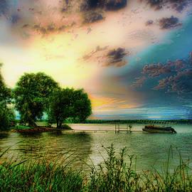 Bear Lake, Michigan near sunset by Bill Jonscher