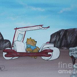 Bear Takes on Bedrock by Deborah Klubertanz