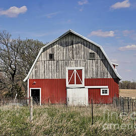 Beautiful Barn by Kathy M Krause
