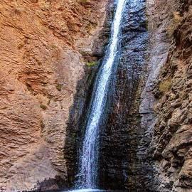 Beautiful Jumping Creek Waterfall by Robert Bales