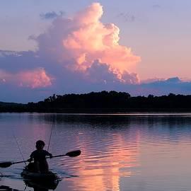 Beautiful Sky Kayak  by Mary Walchuck