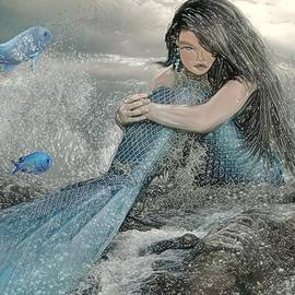Beautiful Sultry Mermaid by Belinda Threeths