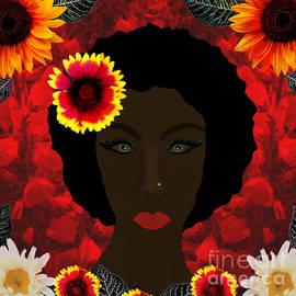 Beauty In The Garden by Diamante Lavendar