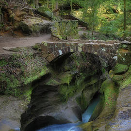 Beauty Of Hocking Hills Ohio by Dan Sproul
