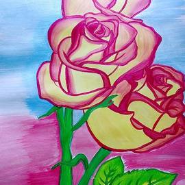 Beauty of roses by Sindhuja Jaiswal
