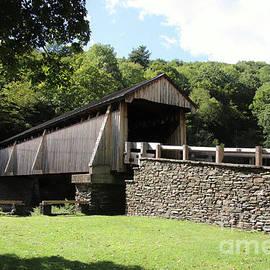 Beaverkill Covered Bridge by Karen Silvestri
