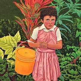 Belizean Peanut Girl by Nathan Katz