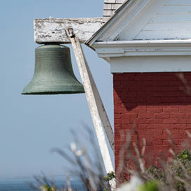 Bell Tower at Pemaquid Point Lighthouse by Denise Kopko