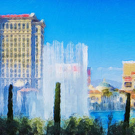 Bellagio Fountains at daytime by Tatiana Travelways