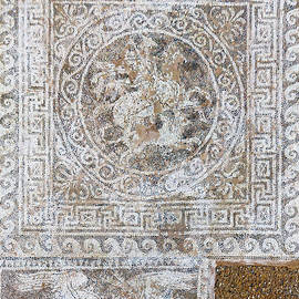 Bellerophon mosaic in Olynthus #1 by IC Papachristos