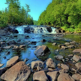 Below the Falls by David Patterson