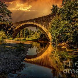 Benbow Bridge  by Mitch Shindelbower